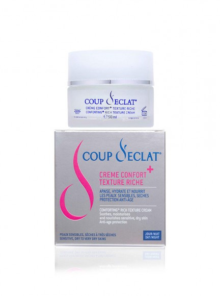 Crème confort texture riche 432x580 - COMFORT+ RICH TEXTURE CREAM - korygujący krem do twarzy